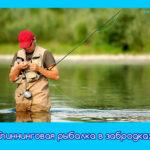 Спиннинговая рыбалка в забродках