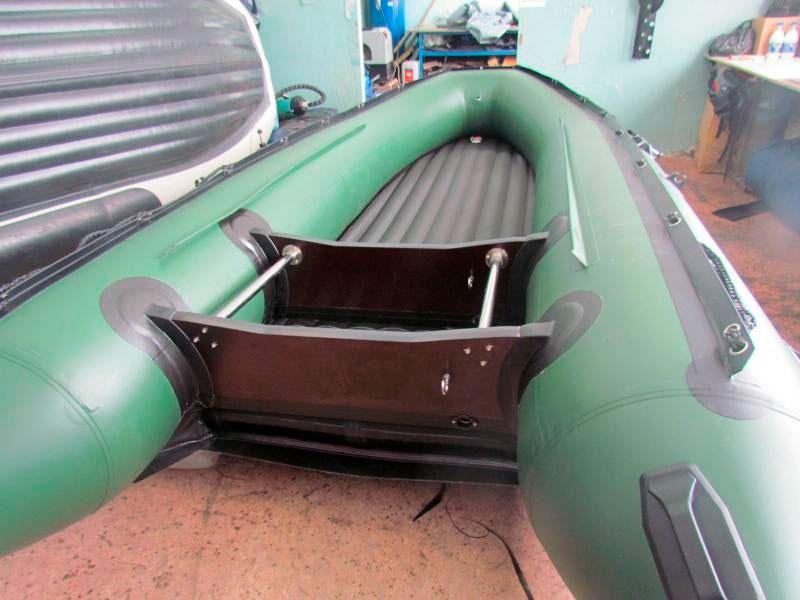 Усиление остова лодки